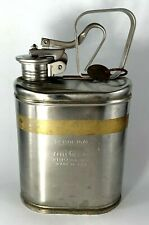 New listing War Vintage Eagle Can 1 gal., Flammables, Stainless Steel No.1301 Has War Tag