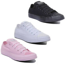 Converse CT All Star Toe Low Women Canvas Trainers In Glitter Size UK 3 - 8