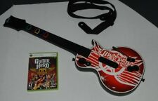LES PAUL GIBSON XBOX 360 Aerosmith  GUITAR HERO CONTROLLER W/ GAME TESTED