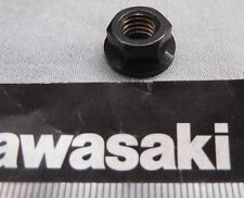 Genuine Kawasaki GPZ500S GTR1000 Flanged Nut M8 8mm Black finish 92015-1408