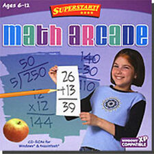 Superstart Math Arcade  discover that math can be easy and fun  Brand New