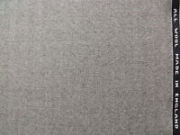 100% Pure Wool Fine Twist Fabric in Herringbone Design 3.6 metre