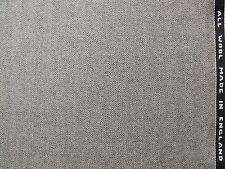 100% Pure Wool Fine Twist Fabric in Herringbone Design 3.6 metre