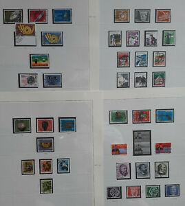 Briefmarken Sammlung Schweiz 1973-1998, gestempelt. SC3