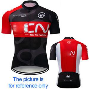 2020 Men Cycling Jersey Bib Short Bicycle Bike Mountain MTB Shirt Team Clothing