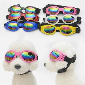 Small Dog Portable COOL Sunglasses Doggy Goggles UV Sun Glasses Eye Protection