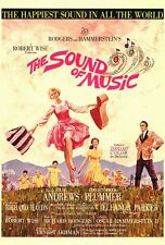 """""""THE SOUND OF MUSIC"""" Movie Poster [Licensed-New-USA] 27x40"""" Theater Size (1965)"""