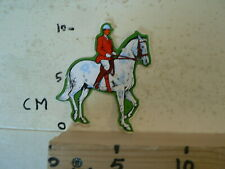 STICKER,DECAL PAARDEN STICKER HORSE MET RUITER IS DAMAGED
