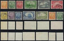Scott 149-161: CHOICE 1929 Scroll Set COMPLETE with Bluenose and coils, F-VF-CDS