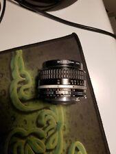 Nikon Nikkor 50 mm F/1.8 MF AI-S Lente en muy buena condición