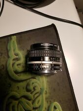 Nikon Nikkor 50mm F/1.8 MF AI-S Lens VGC
