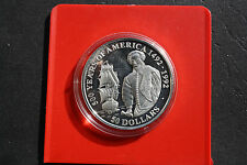 """Cook Islands: 50 Dollar 1990 Silver, km#188, PP-PROOF, #f1324, """"Walter Raleigh"""""""