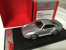 1/43 factory built MR Italy Porsche 959 Coupe gruppo B bbr make up bosica