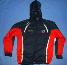 NY Ladies GAA / O'NEILLS - MENS hooded zip-up rain (Storm) Coat / Jacket. M