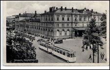 CHEMNITZ Sachsen um 1930/40 Tram Strassenbahn am Bahnhof Hauptbahnhof
