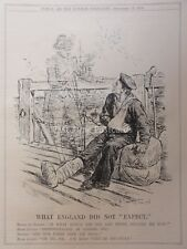 WW1 1916 13th Dec NELSON GHOST BLUE JACKET & ATHENS DEMONSTRATION Punch Cartoon
