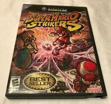 Super Mario Strikers (Nintendo GameCube, 2005) Authentic Case only.