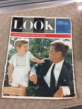 LOOK Magazine 1963 DEC 3 JFK, JOHN F KENNEDY ASSASSINATION, PRESIDENT & SON-71P