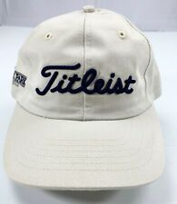 Titleist Golf Baseball Cap Hat Adjustable Strapback University Park Made in USA