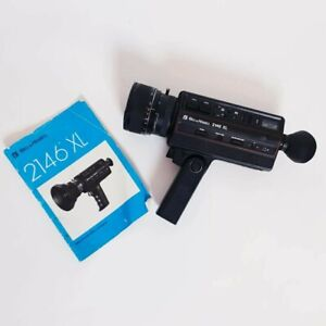 Bell & Howell Filmosonic 2146XL Super 8 Camera Good Condition Untested + Manual