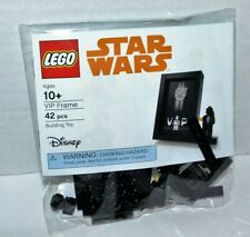 LEGO Star Wars Black VIP Card Holder Frame Millennium Falcon 5005747 NEW SEALED