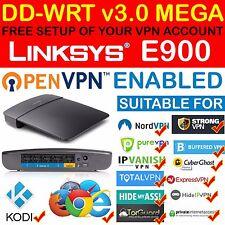 *NEW* FREE VPN ACCOUNT SETUP OPENVPN PPTP DD-WRT MEGA LINKSYS E900 ROUTER KODI