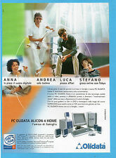 BELLEU002-PUBBLICITA'/ADVERTISING-2002- OLIDATA PC ALICON 4 HOME