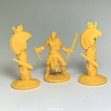 Lot 3 movie game yellow Figure From Dungeons & Dragon D&D Marvelous Miniatures