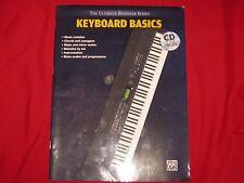 PAPERBACK MMVI  THE ULTIMATE BEGINNER SERIES - KEYBOARD BASICS - ALFRED *NO CD*