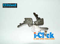 Replacement Set of Till Keys for Uniwell & Sam4s TX SX DX Series Cash Register
