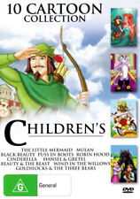 Children's Cartoon Collection: Black Beauty / Puss in Boots / Cinderella / Mulan