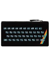 Retro Gaming Keyboard Black Pencil Case 21x11cm