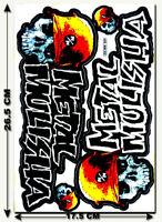 Metal Mulisha Stickers Decals Motorcycle Bike Truck Bumper MX Supercross MTB T45