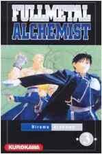 manga Fullmetal Alchemist tome 3 Hiromu Arakawa Kurokawa Full Metal Brotherhood