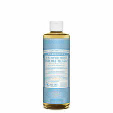Dr. Bronner's Pure-Castile Soap Liquid (Hemp 18-in-1) Baby Unscented 473ml