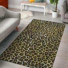 Leopard Cheetah Animal Area Rug Carpet, Living Room Rugs, Floor Decor