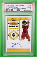 2019 Contenders Rookie Ticket Kevin Porter Jr. Auto #111 PSA 9 🏦 On Card Auto