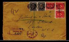 MOTO St. John N.B. Sub No.2 1933 Medallion registered >> ENGLAND << cover Canada