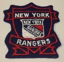"NEW YORK RANGERS Hockey EMBLEM 3"" PATCH Crest Red Blue White NHL"