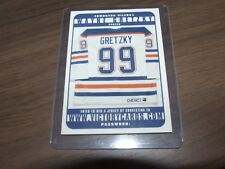 1999-00 Upper Deck Victory  ENTER TO WIN JERSEY WAYNE GRETZKY