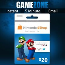 Nintendo eShop Gift Card Code - $20 USD USA e-Shop Switch / 3DS / Wii U Key