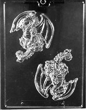 I027 Dragon Pieces Chocolate Mold w/instructions