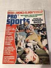 1972 PRO Sports SAN FRANCISCO 49ers KEN WILLARD John BRODIE Bobby ORR Esposito