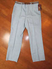 Vintage Mens Country Classics By Seminole Slacks Pants W Belt 38 X 32 Blue Nwt