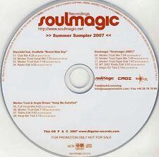 SOULMAGIC RECORDINGS SUMMER SAMPLER 2007 - VARIOUS ARTISTS -RARE 13-CUT PROMO CD