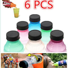 6X Reusable Useful 6Pcs/set Snap On Pop Tops Can Bottle Caps For Soda Drink Lid