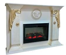 Elektrokamin mit Fernbedienung Kamin Kamine Versa Serie Steinmöbel Luxus Marmor