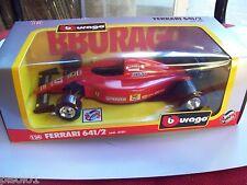 FI Ferrari 641/2  Alesi  scala 1.24    die.cast metal Burago