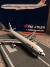 GJ 400 scale diecast model Air China Airbus A340-313X Commercial Airliner