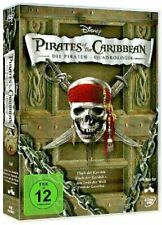 Fluch der Karibik: 1- 4 Pirates of the Caribbean Piraten Quadrologie DvD Box NEU